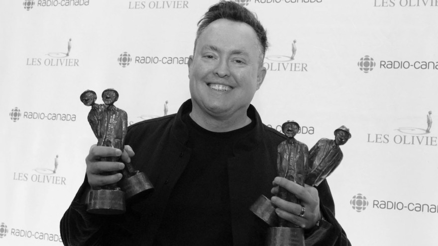 Mike triomphe au Gala Les Olivier