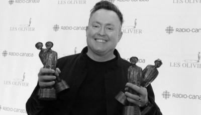 Mike triumphant at Les Olivier